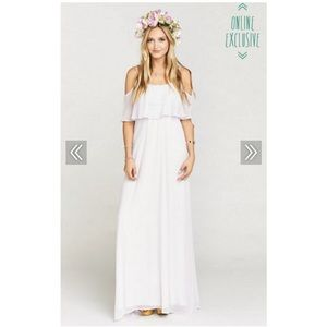 Show Me Your Mumu Lavender Maxi Dress